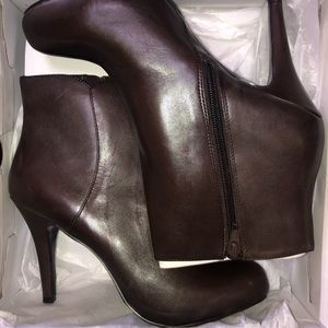 Nine West platform booties